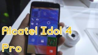 Probamos el Alcatel Idol 4 PRO con Windows 10 Mobile #MWC17