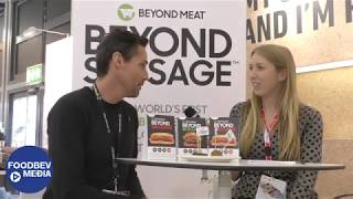 Beyond Meat showcases the Beyond Sausage and its plant-based range