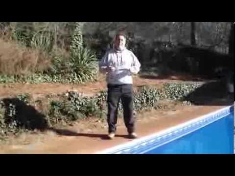 How To Put Your Swimming Pool Liner Back In The Track