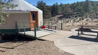 Yurt Rentals at Ridgway State Park