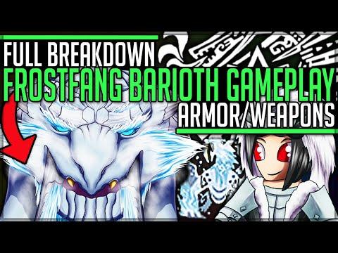 New Frostfang Barioth Gameplay Amazing Armor Full Breakdown Monster Hunter World Iceborne Youtube