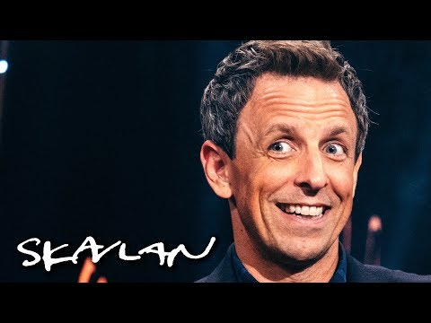 Thumbnail: Seth Meyers got told off by Trump after mockery: – You were too harsh! | Skavlan