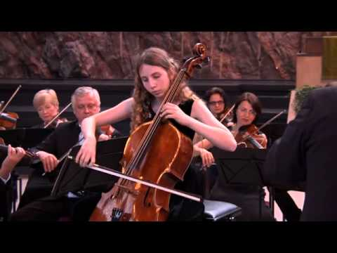 Дали Гуцериева. г.  Хельсинки,  Финляндия. И. Х.Бах, концерт для виолончели с оркестром