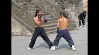Sanda Beginner training in China