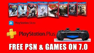 PS4 Free Games on 7.0 - Forget PS4 Jailbreak 7.0