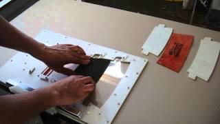 Фирма Швеймаш: загрузка швейного автомата для шитья по шаблону(Фирма Швеймаш представляет швейный автомат, позволяющий точно соединять детали изделия, уложенные многосл..., 2015-07-24T13:13:53.000Z)