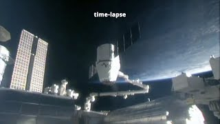 SpaceX CRS-16: Dragon departure from the ISS
