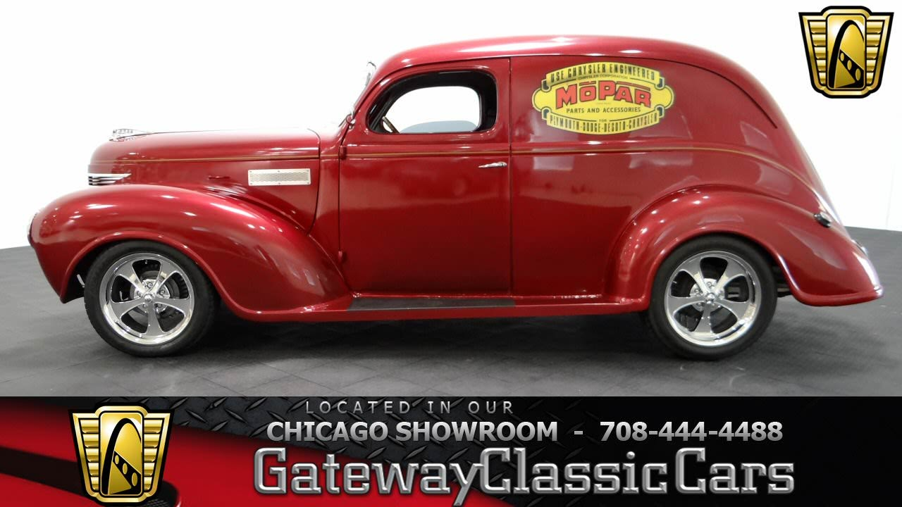 1939 Plymouth 2 Door Sedan Delivery Gateway Classic Cars Chicago ...