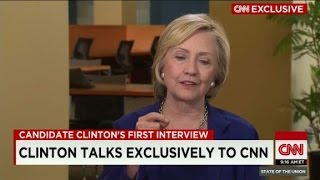 Hillary Clinton on emails: 'everything was permitted...