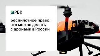 Беспилотное право: что можно делать с дронами в России