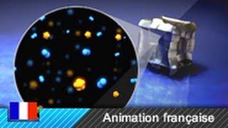 Transistor bipolaire NPN - principe de fonctionnement (Animation 3D)