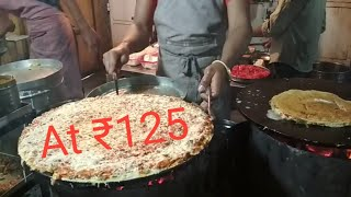 jini dosa   Street food   Manek chok   Ahmedabad