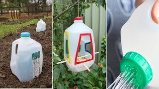 You Will Never Throw Away Used Milk Jugs After Watching This