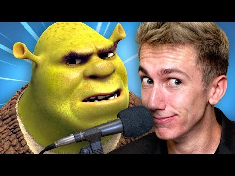 THE NEW VOICE OF SHREK!