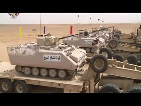 Egypt Army | Military Power 2015 | Operation and Training