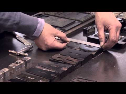 An Introduction to Letterpress Printing with Mr Smith