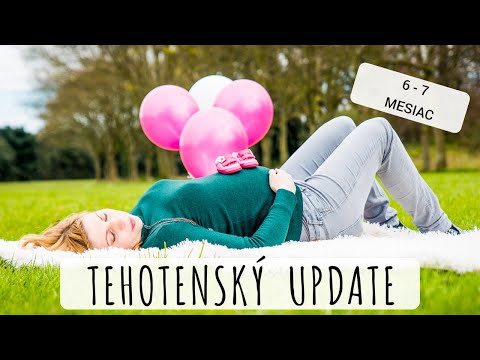 "moje-tehotenstvo-""2""-(6---7-mesiac)---my-pregnancy-6th-and-7th-month"