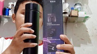 WOWW UNBOKING TUMBLER SAKURA LED ADA SUHU Harga 50k