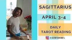 SAGITTARIUS Wow what a surprise! Daily April 3-4 Tarot Reading