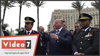 مدير أمن القاهرة يهنئ المواطنين بالتحرير بأعياد الشرطة وثورة يناير