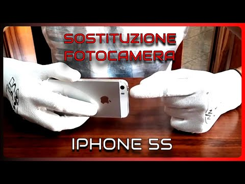 Sostituzione fotocamera e pulizia lente, iPhone 5s