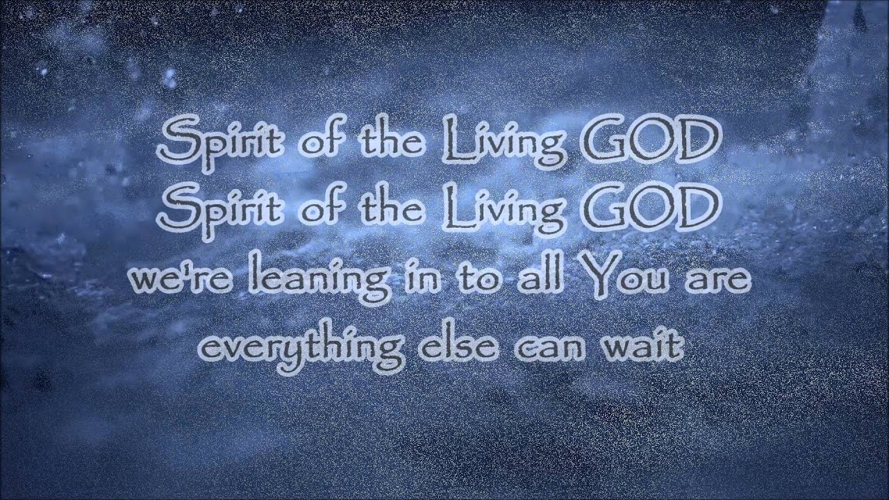 Spirit of the Living GOD (Vertical Church Band) with ...