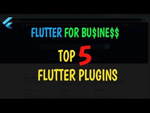 Flutter For Business: Top 5 Plugins
