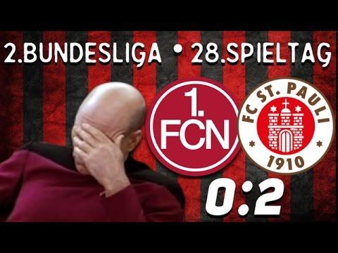 28. Spieltag • 1.FC Nürnberg : FC Sankt Pauli