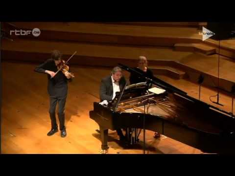 Stephen Waarts | Brahms | Scherzo (F.A.E.) | 2015 Queen Elisabeth International Violin Competition