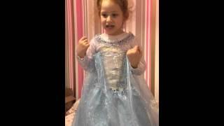 Наша сладкая Эльза , то есть Патрисичка :) , часть вторая - обзор костюма