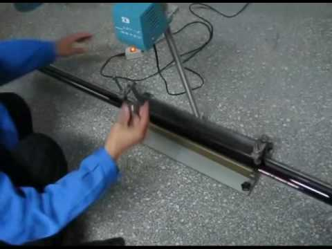 Evacuated solar glass tube impact resistance testing, Vacuum glass tube against stell ball & hail