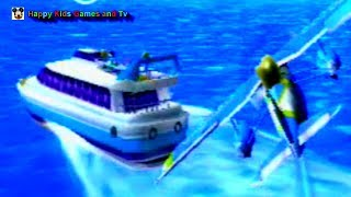 Wii Sports Resort - Airsports - Island Flyover 2 - Happy Kids Games And Tv - 1080p