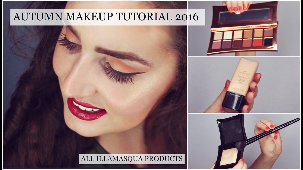 Autumn 2016 makeup tutorial full face illamasqua youtube baditri Image collections