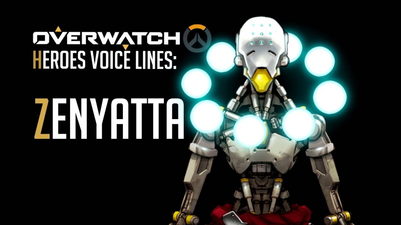Overwatch Zenyatta All Voice Lines Youtube