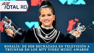 Rosalía de ser rechazada en televisión a triunfar en los MTV Video Music Awards