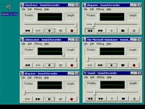 Windows 2000 - Sendrec32.exe Mix Sounds