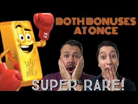 AMAZING DOUBLE BONUS ON GOLD BONANZA