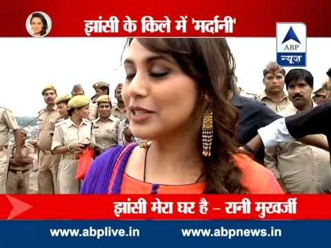 ABP News special: Rani on promotion spree for 'Mardaani' in Jhansi