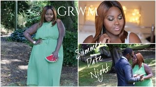 SUMMER DATE NIGHT GRWM: OUR ANNIVERSARY