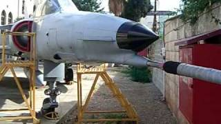 Close look at IAI Kfir plane     MadaTech - 22