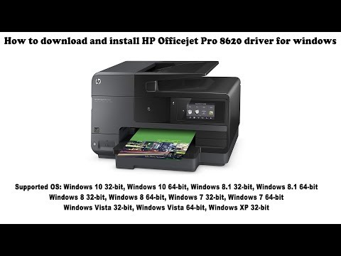 How To Download And Install Hp Officejet Pro 8620 Driver Windows