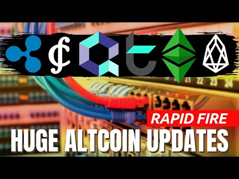 HUUGE CRYPTOCURRENCY NEWS   Quant's Overledger VS Ripple's ILP   Tomo, Ethereum Classic, Credits