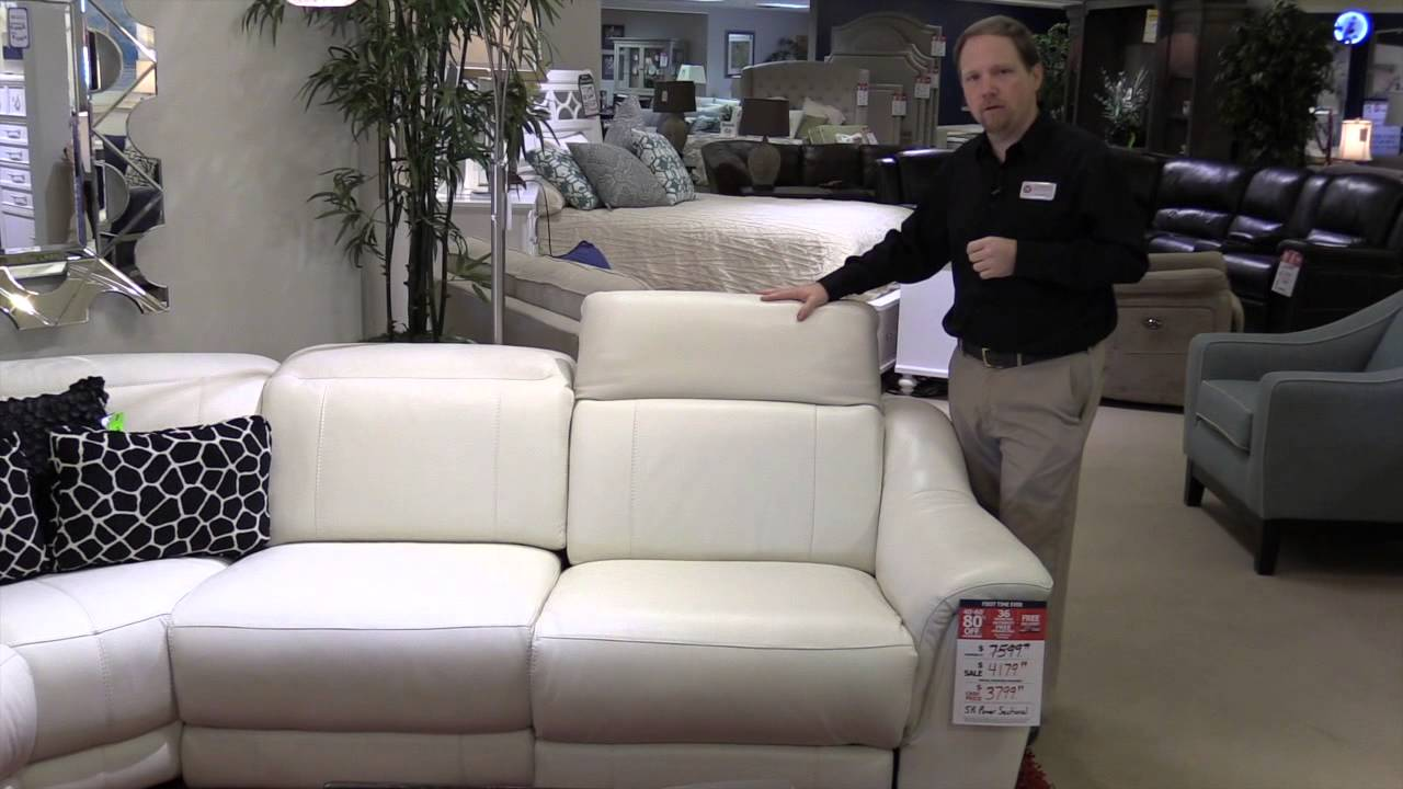 leather sofas tampa small sofa beds furniture village htl sectional loveseat adjustable headrest recliner hudson s pinellas park fl youtube