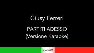 Giusy Ferreri - Partiti adesso (Base Musicale Karaoke Cover)