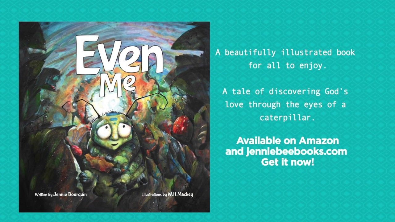 Even Me by Jennie Bourquin - book trailer