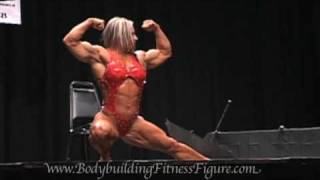 Debi Laszewski Two Weeks Till Olympia 2009