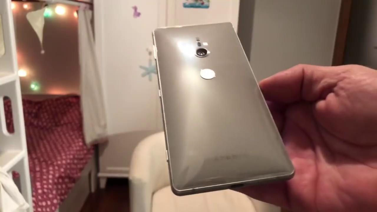 Sony Xperia XZ2. Unboxing
