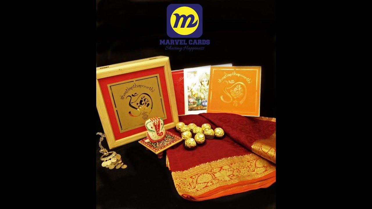 Marvel Cards - Luxury Invitations | Mylapore | Chennai | Tamil Nadu ...
