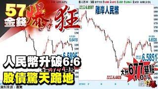 人民幣升破6.6 股債驚天跪地《57金錢爆》2017.1123