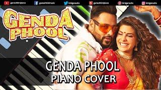 Genda Phool Song Badshah | Piano Cover Chords Instrumental By Ganesh Kini